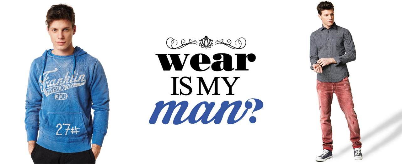 WEAR IS MY MAN