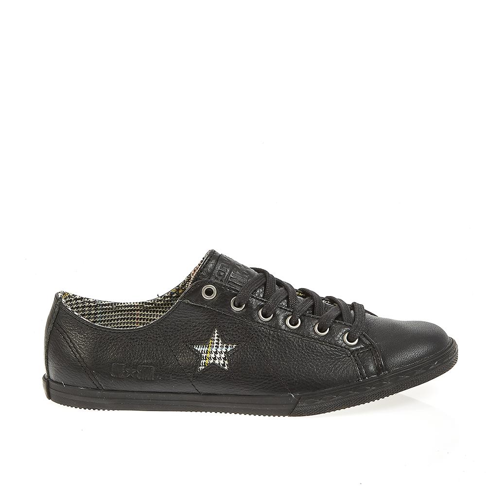 CONVERSE - Παπούτσια One Star μαύρα ανδρικά παπούτσια sneakers