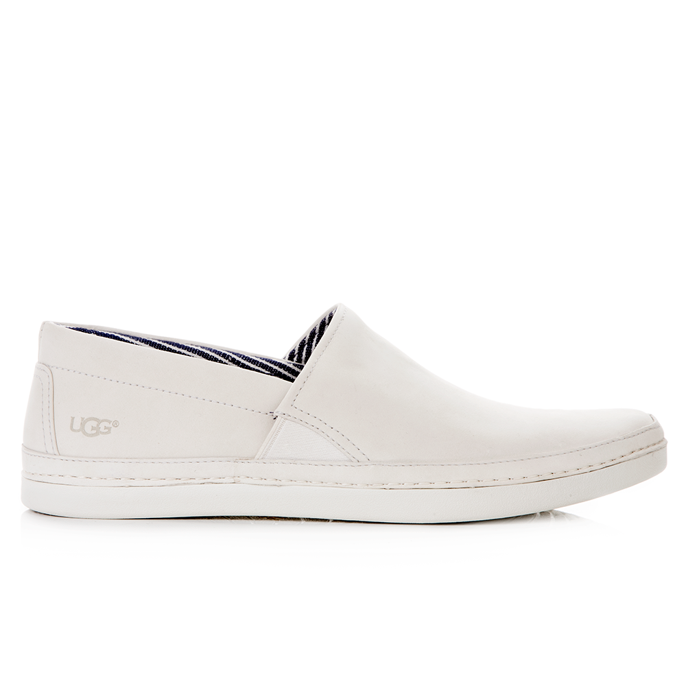 UGG AUSTRALIA - Ανδρικά μοκασίνια Ugg Australia μπεζ ανδρικά παπούτσια μοκασίνια loafers