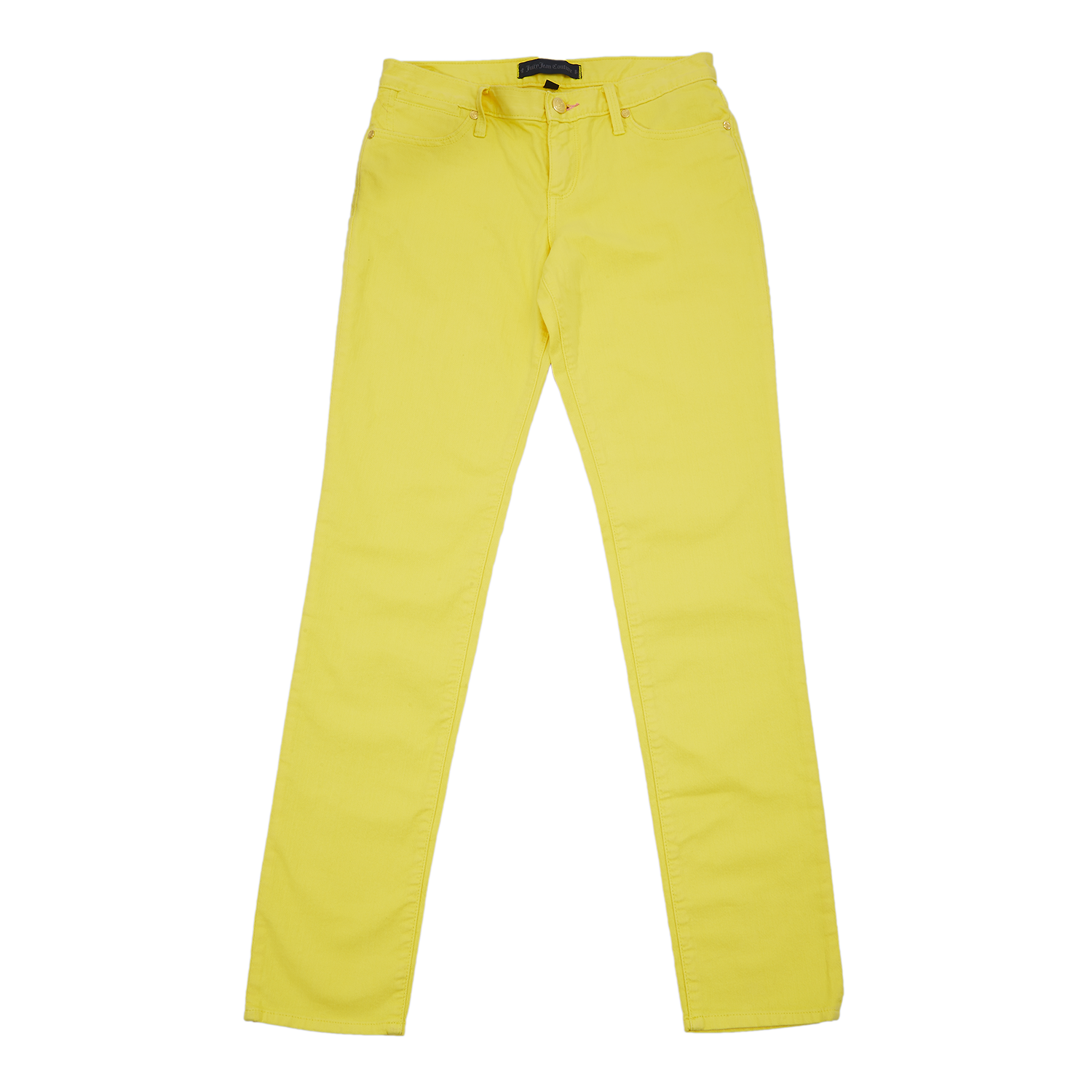 JUICY COUTURE KIDS - Παιδικό παντελόνι Juicy Couture κίτρινο