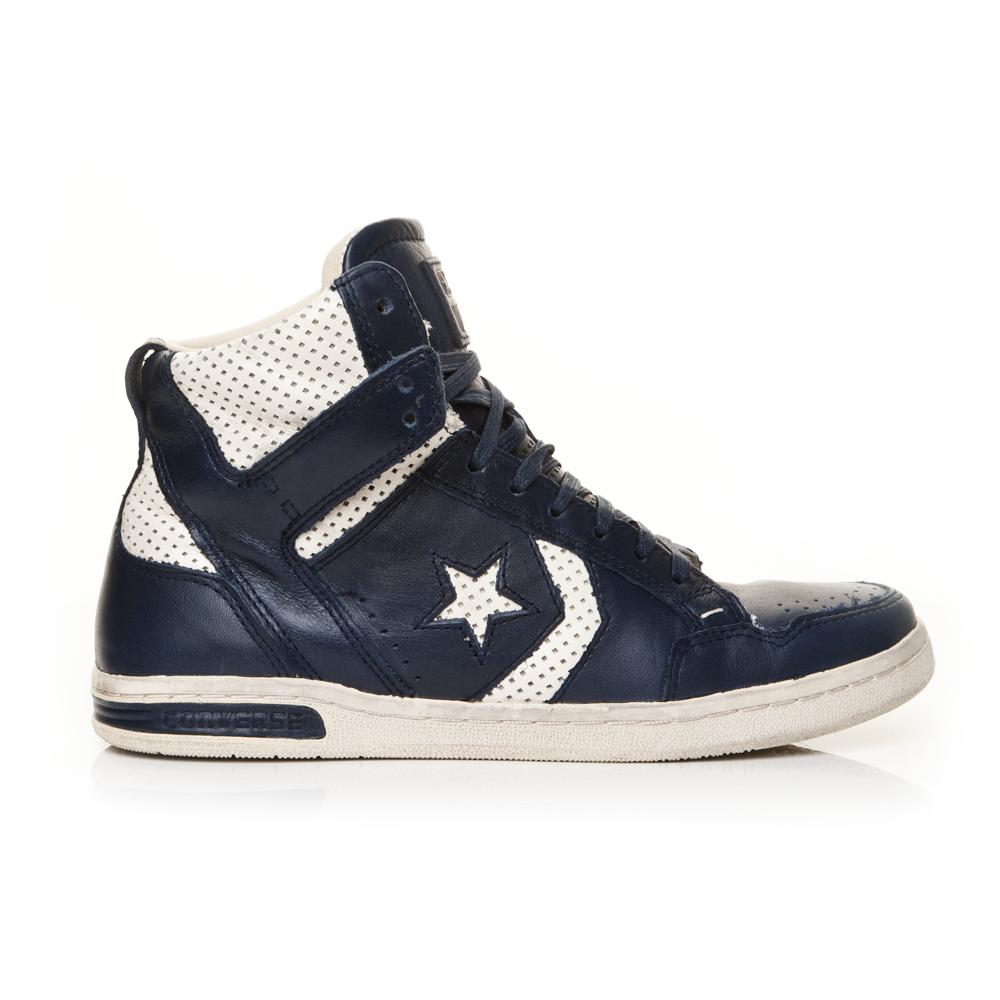 CONVERSE - Unisex μποτάκια John Varvatos μπλε ανδρικά παπούτσια sneakers