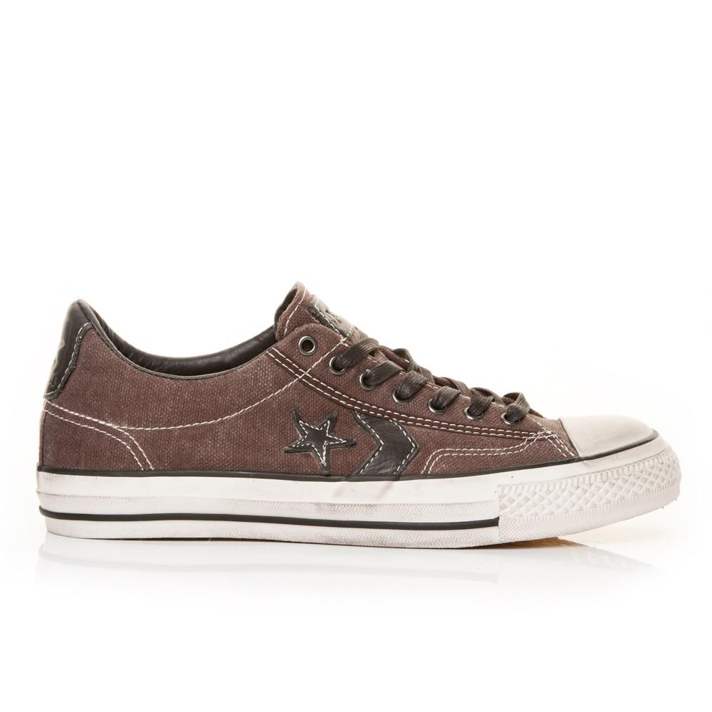 CONVERSE - Unisex παπούτσια John Varvatos Star Player σοκολατί γυναικεία παπούτσια sneakers