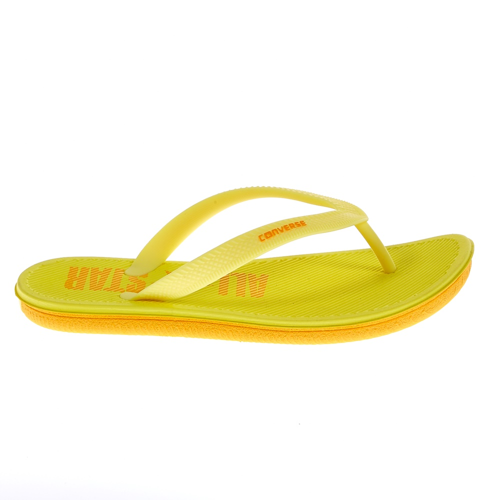 CONVERSE – Unisex σαγιονάρες Converse κίτρινες