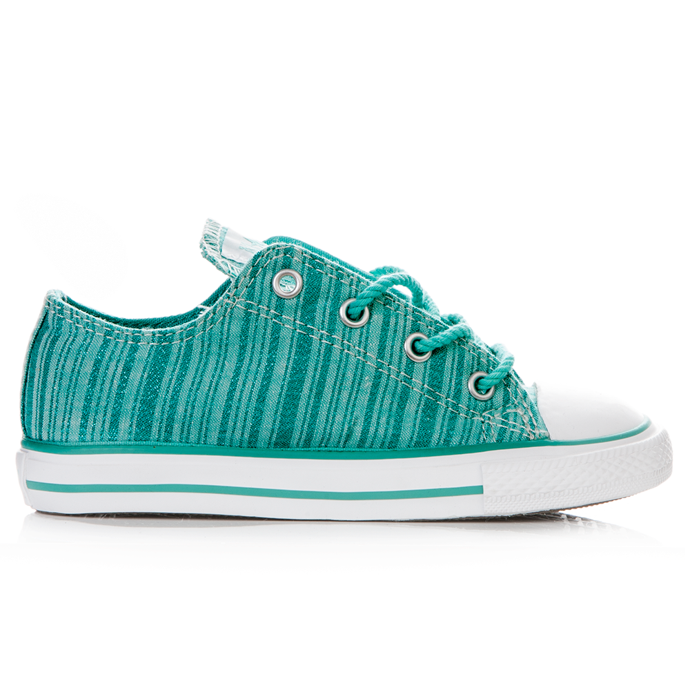 CONVERSE – Βρεφικά παπούτσια Chuck Taylor πράσινα