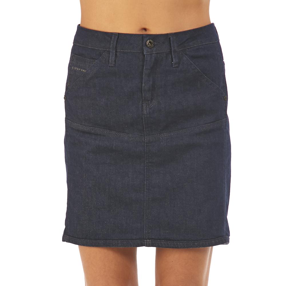 G-STAR RAW - Φούστα jean G-STAR RAW γυναικεία ρούχα φούστες μίνι