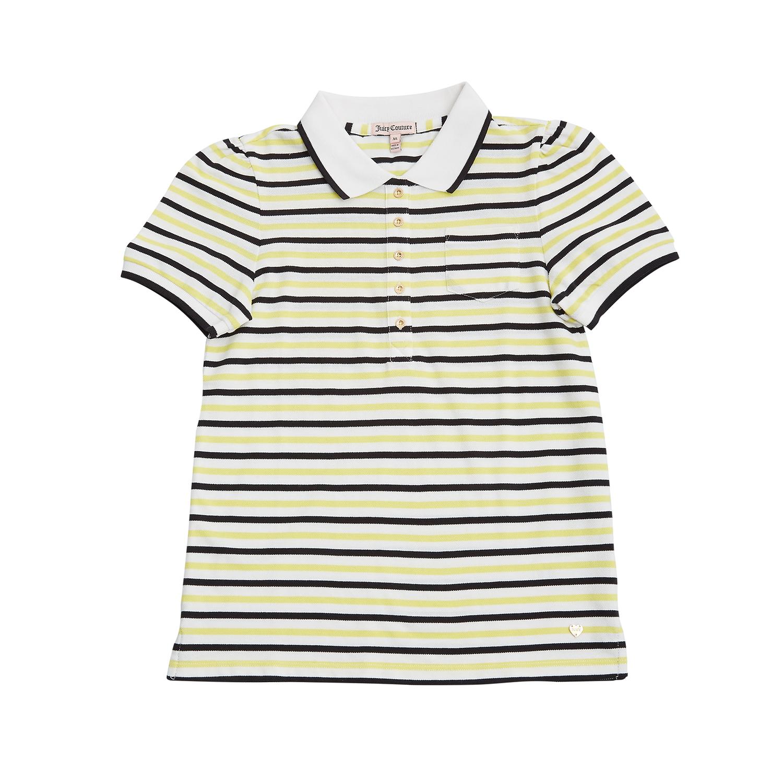 JUICY COUTURE KIDS - Παιδική μπλούζα Juicy Couture μπλε-λευκή
