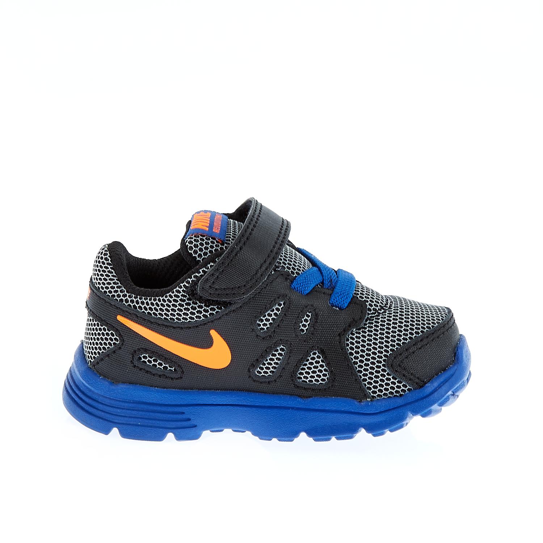 NIKE - Βρεφικά παπούτσια Nike REVOLUTION 2 TDV μπλε-μαύρα