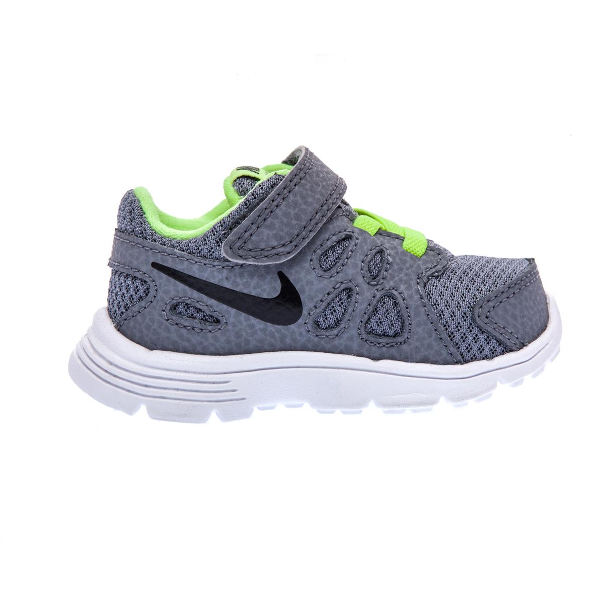 NIKE – Βρεφικά παπούτσια NIKE REVOLUTION 2 γκρι