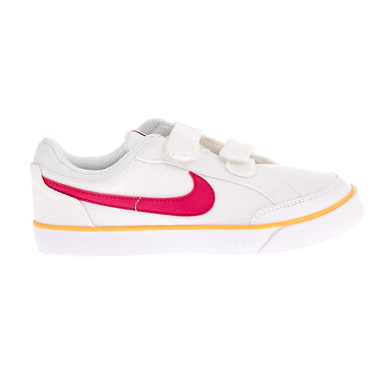 NIKE – Παιδικά παπούτσια NIKE CAPRI 3 λευκά