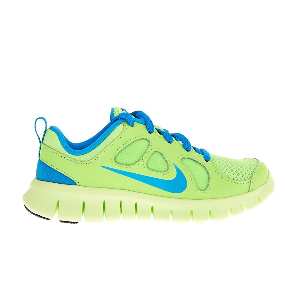 NIKE – Παιδικά αθλητικά παπούτσια NIKE FREE 5.0 λαχανί