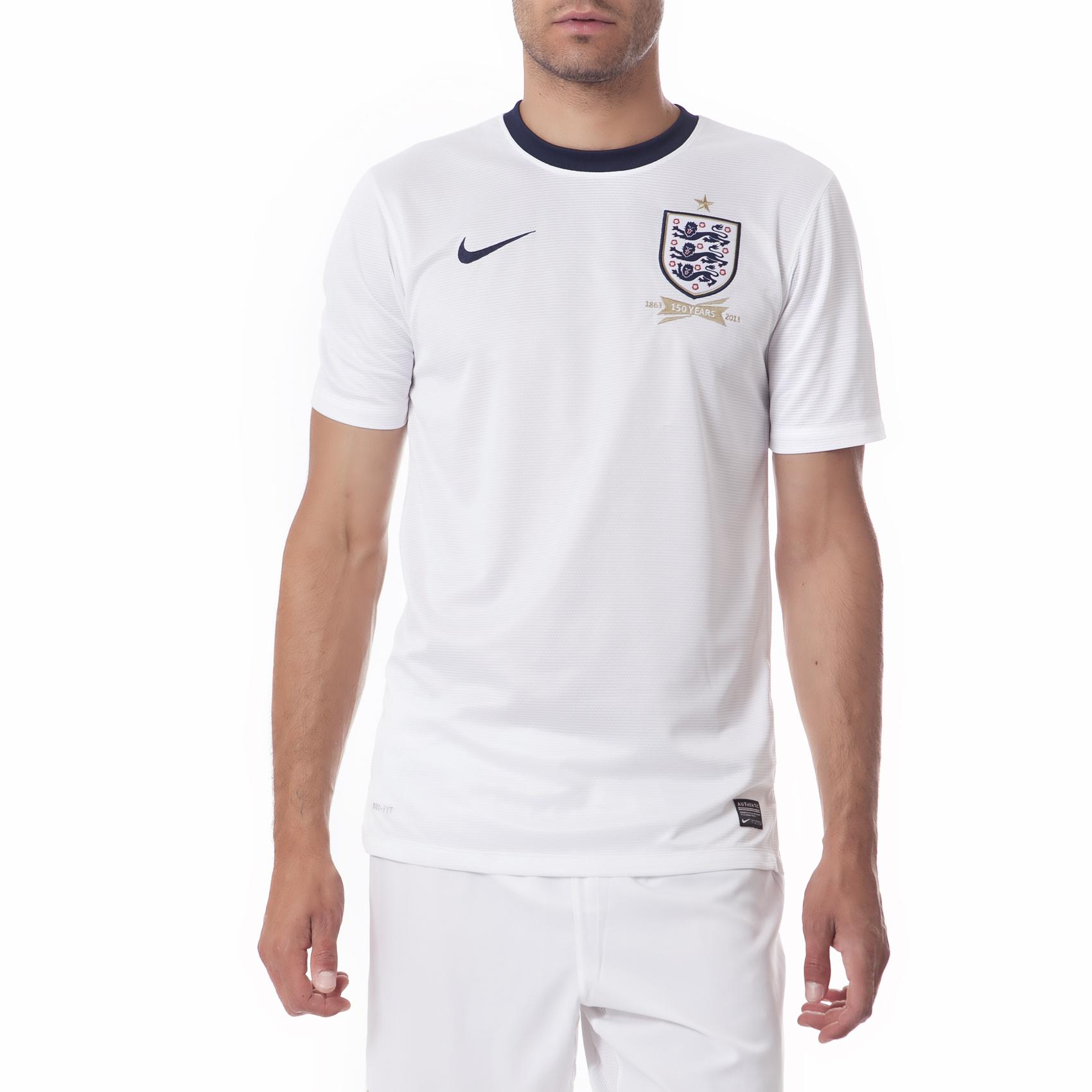 NIKE - Ανδρική μπλούζα Nike ENT SS HOME REPL JSY λευκή