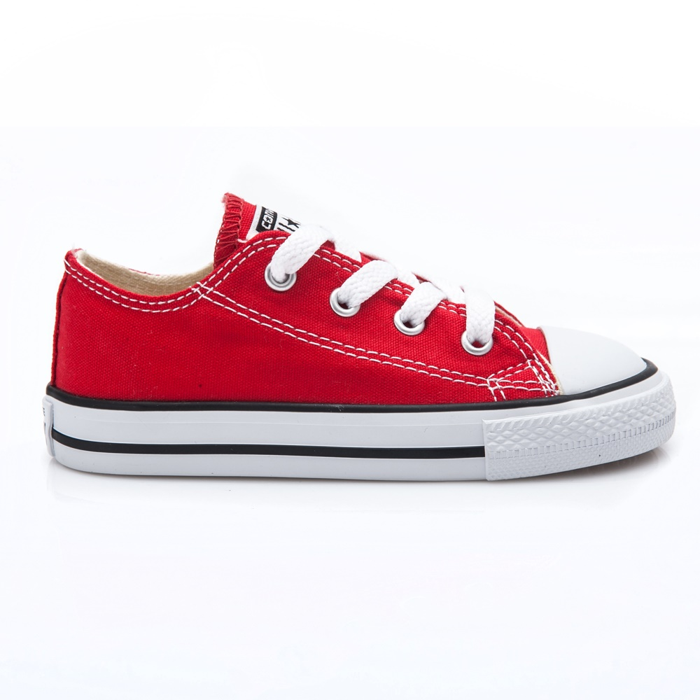 CONVERSE – Βρεφικά παπούτσια Chuck Taylor κόκκινα