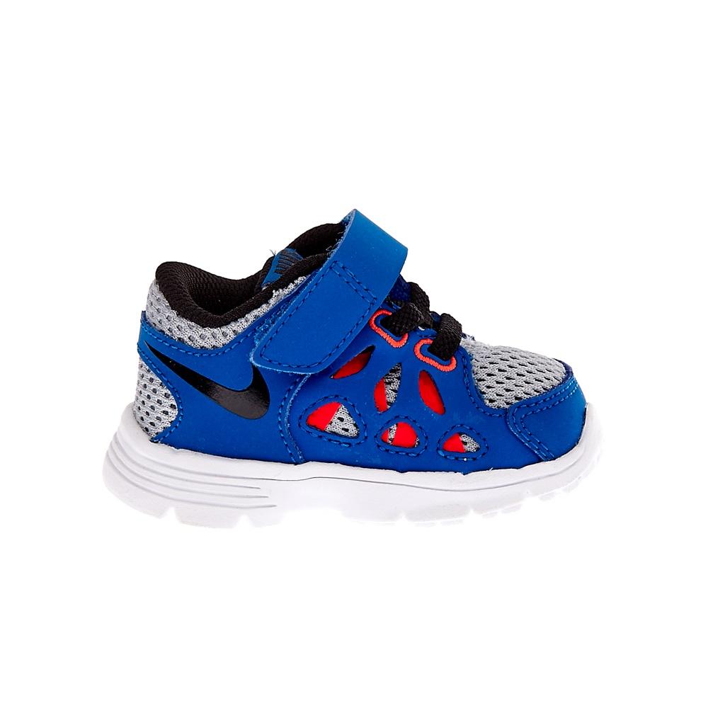 NIKE – Βρεφικά αθλητικά παπούτσια NIKE KIDS FUSION RUN 2 μπλε ρουά