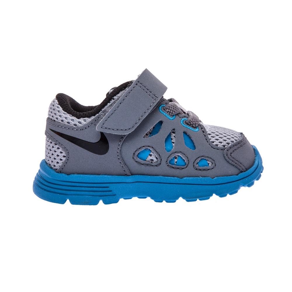 NIKE – Βρεφικά παπούτσια NIKE KIDS FUSION RUN 2 γκρι