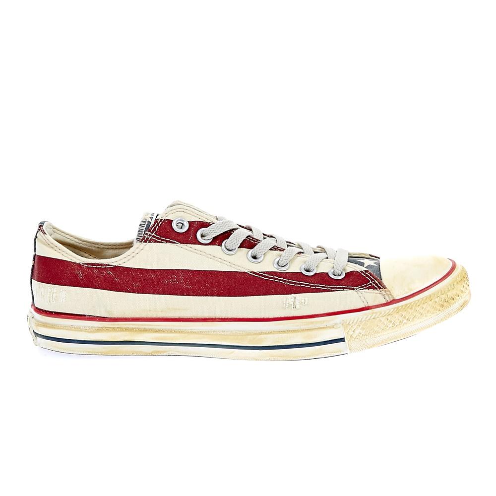 CONVERSE – Unisex παπούτσια Chuck Taylor All Star Ox λευκά-κόκκινα