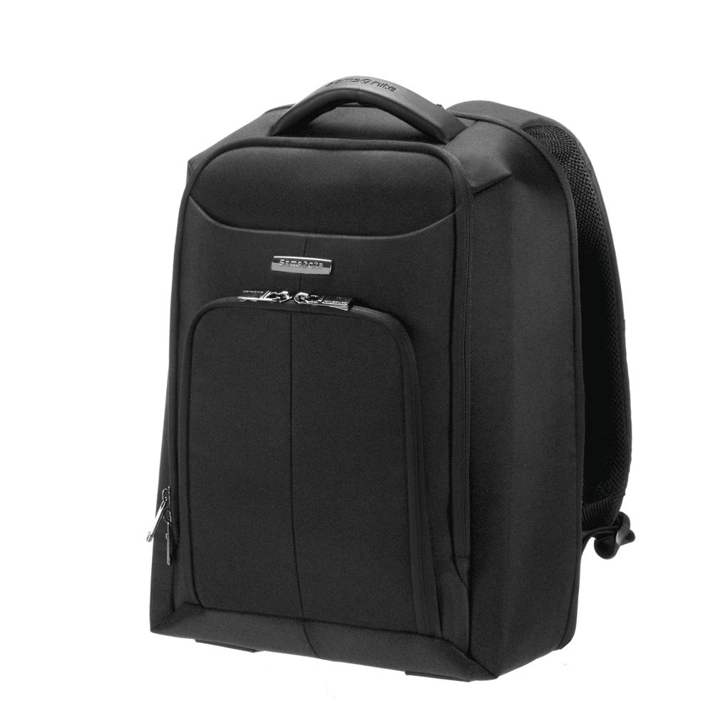 SAMSONITE - Τσάντα πλάτης ERGO-BIZ SAMSONITE μαύρη γυναικεία αξεσουάρ τσάντες σακίδια πλάτης