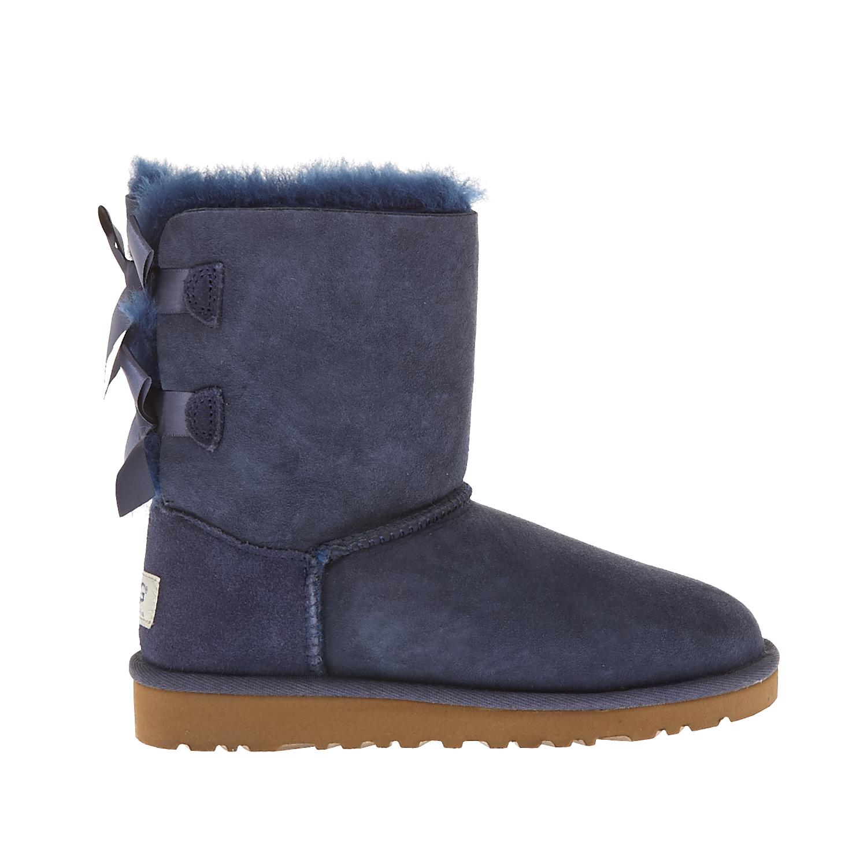 UGG AUSTRALIA - Παιδικά μποτάκια Ugg Australia μπλε παιδικά boys παπούτσια μπότες μποτάκια
