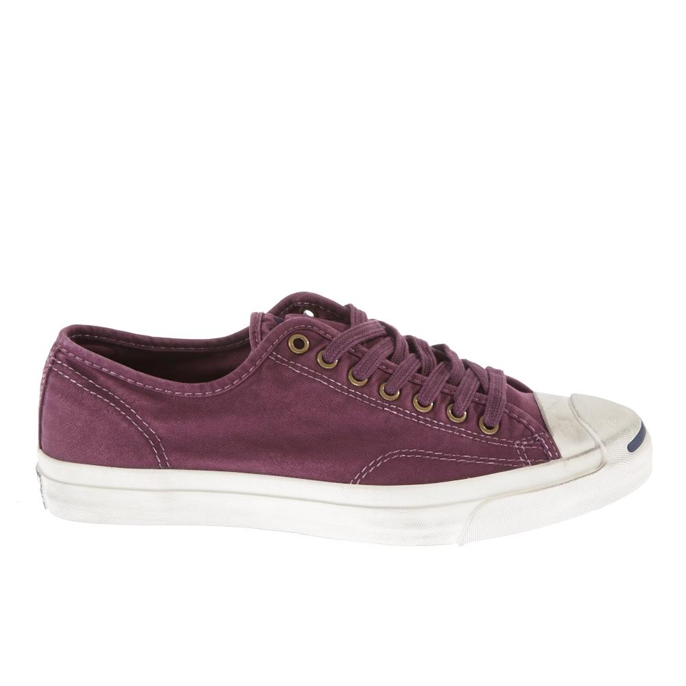 CONVERSE – Unisex Παπούτσια Jack Purcell Jack μελιτζανί