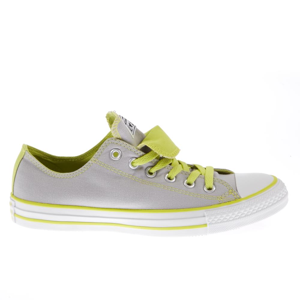 CONVERSE - Παπούτσια Chuck Taylor γκρι γυναικεία παπούτσια sneakers