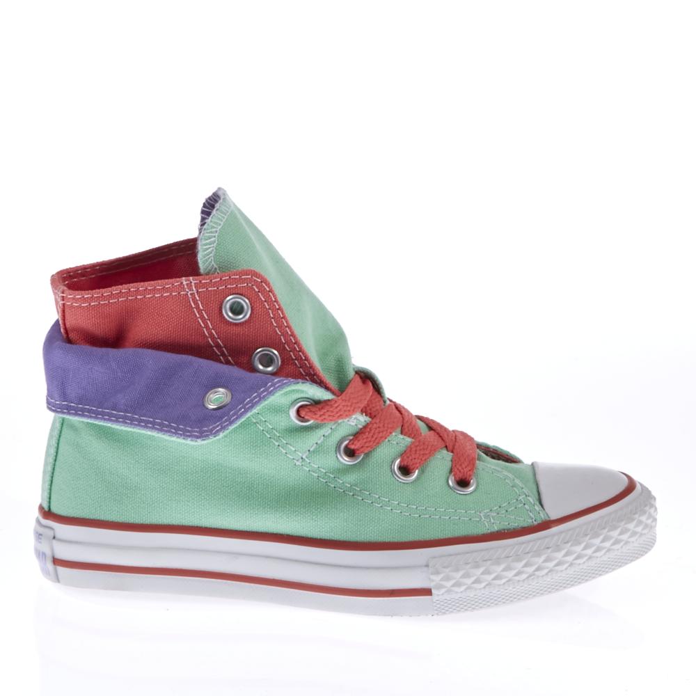 CONVERSE – Παιδικά μποτάκια Converse φυστικί