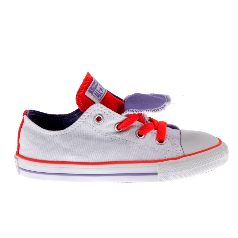 993835f7ce1 CONVERSE - Βρεφικά παπούτσια Chuck Taylor λευκά ⋆ EliteShoes.gr