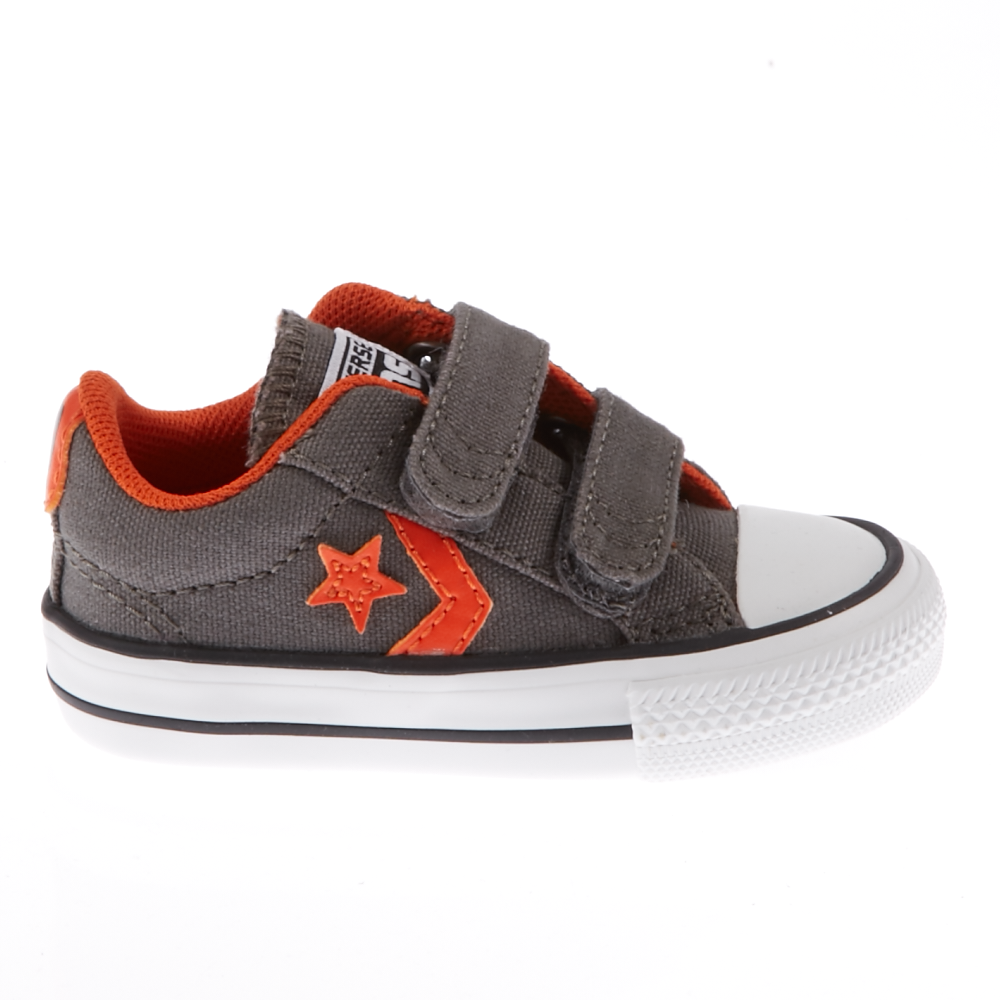 CONVERSE – Βρεφικά παπούτσια Star Player ανθρακί