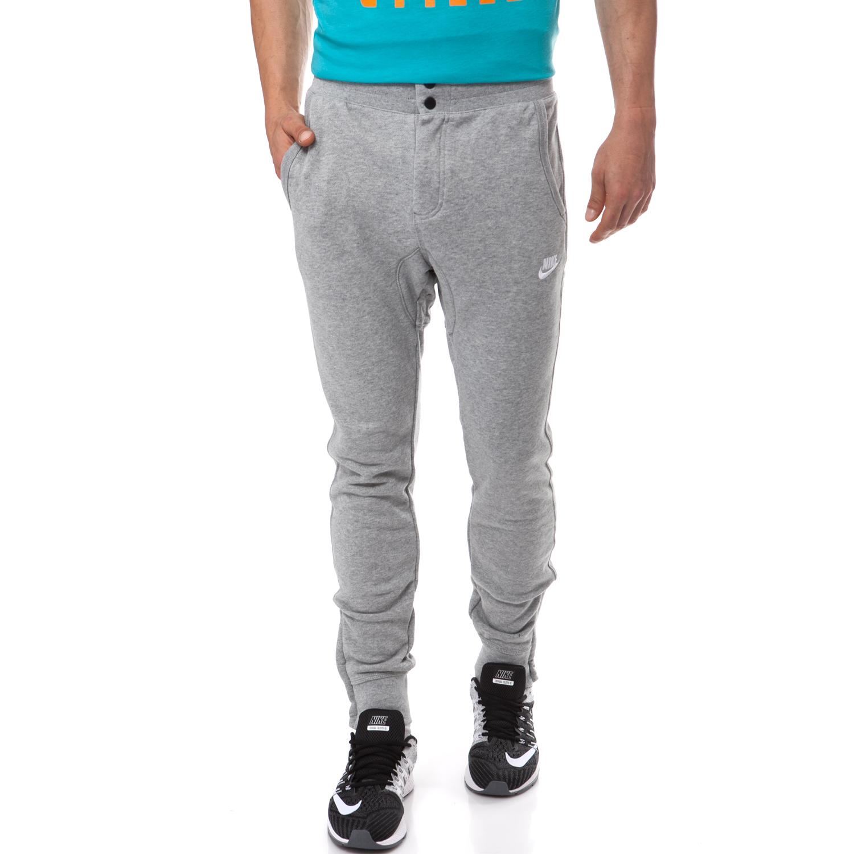 NIKE - Ανδρική φόρμα Nike γκρι ανδρικά ρούχα αθλητικά φόρμες