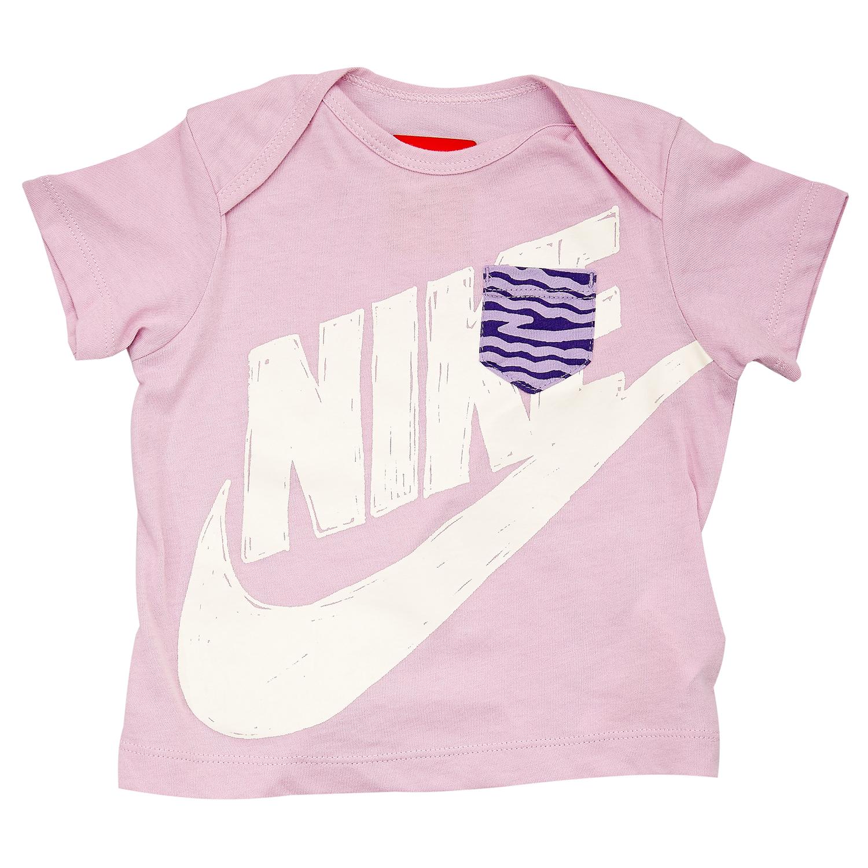 NIKE - Βρεφική μπλούζα Nike μωβ