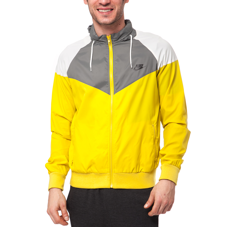 NIKE – Αντρικό τζάκετ NIKE RU HERITAGE WINDRUNNER κίτρινο