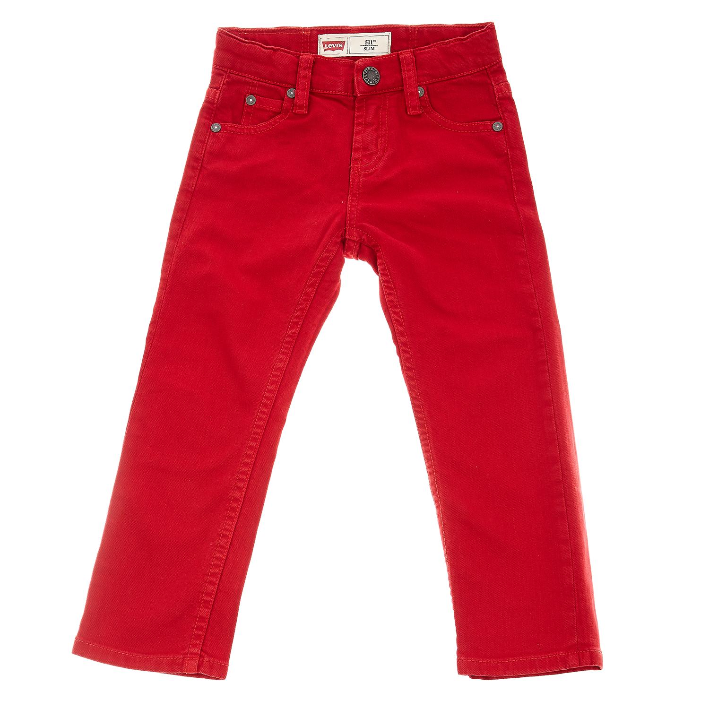 LEVI S KIDS - Παιδικό παντελόνι Levi s Kids 511 κόκκινο 8c3f88bd497