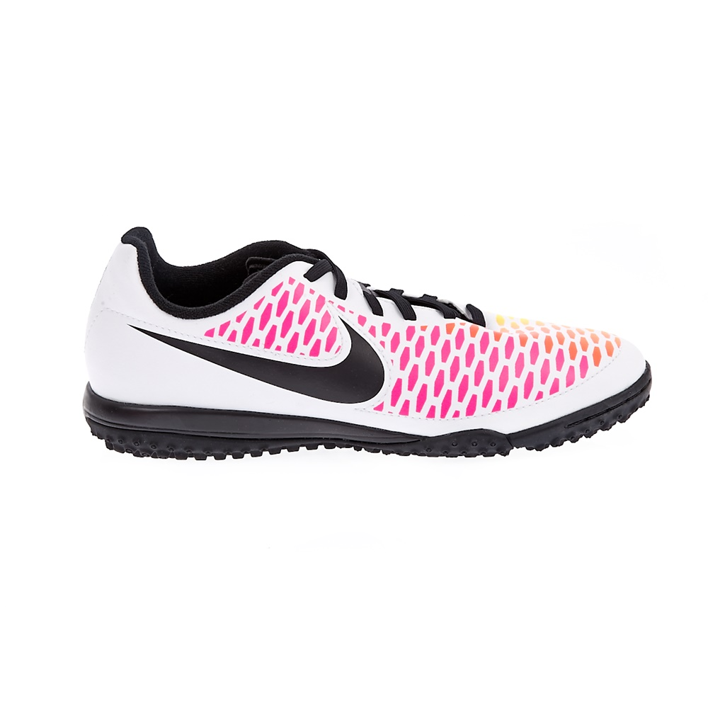 NIKE – Παιδικά ποδοσφαιρικά παπούτσια NIKE MAGISTA ONDA TF λευκά