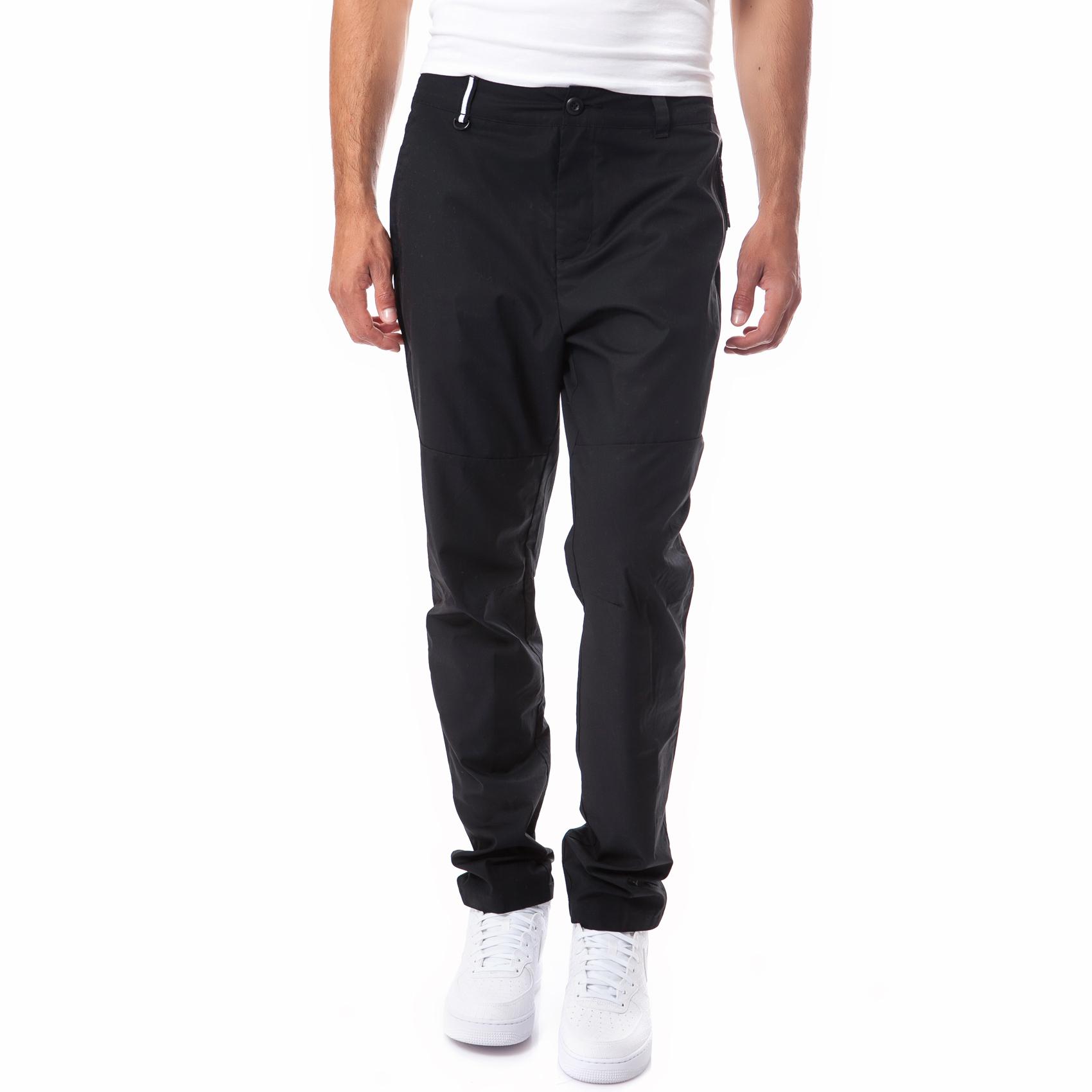 NIKE - Ανδρικό παντελόνι Nike μαύρο ανδρικά ρούχα αθλητικά φόρμες