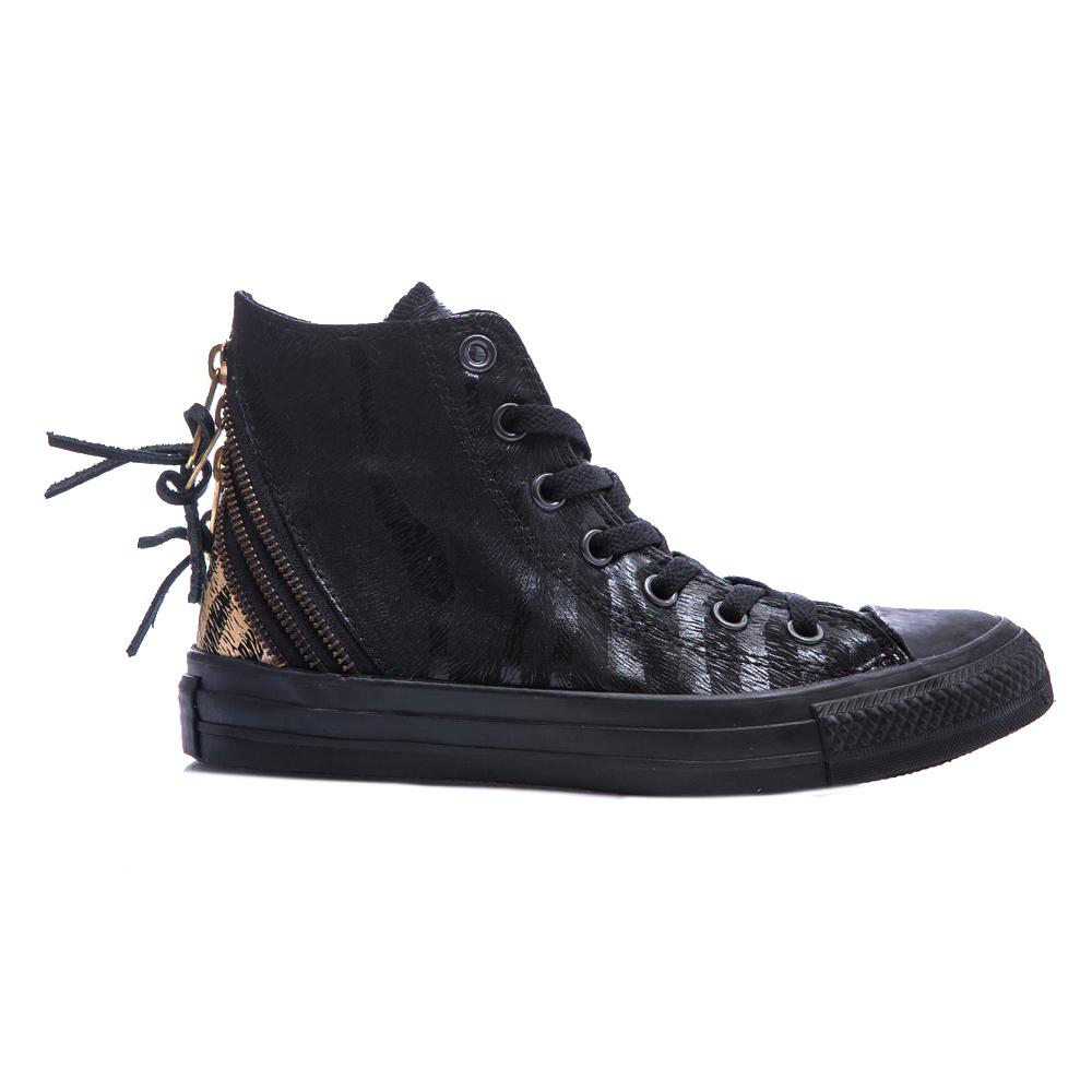 CONVERSE – Γυναικεία παπούτσια Chuck Taylor Tri Zip μαύρα
