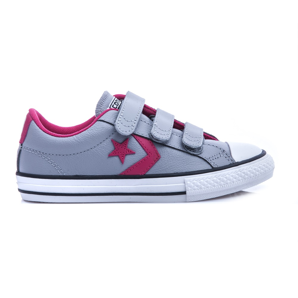 CONVERSE - Παιδικά παπούτσια Star Player γκρι sneakers