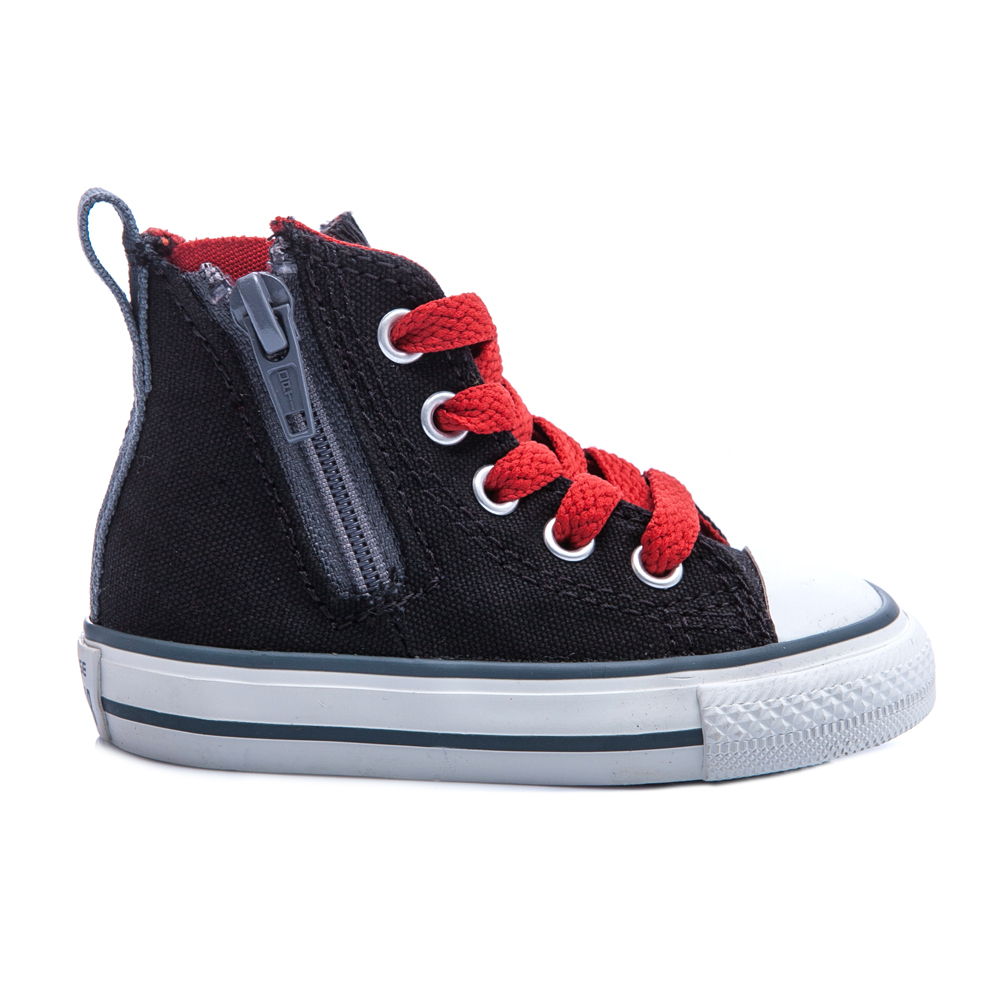 CONVERSE – Βρεφικά μποτάκια Chuck Taylor All Star μαύρα