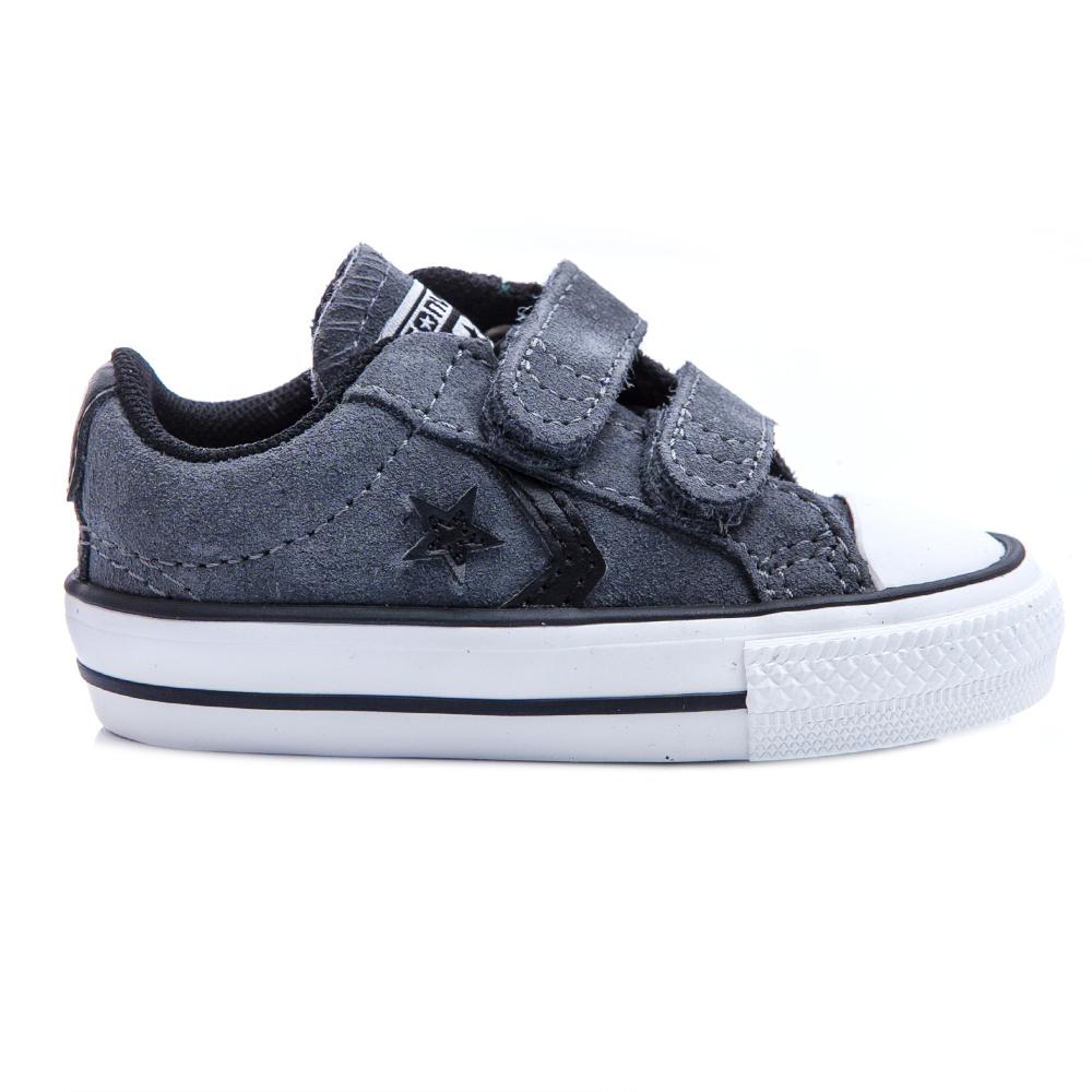 CONVERSE – Βρεφικά παπούτσια Star Player γκρι σκούρο