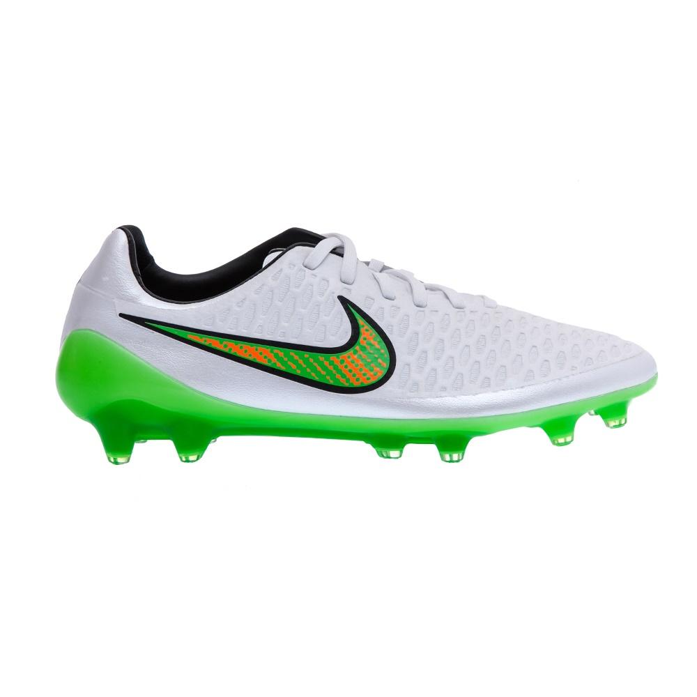 NIKE - Ανδρικά παπούτσια NIKE MAGISTA OPUS FG λευκά