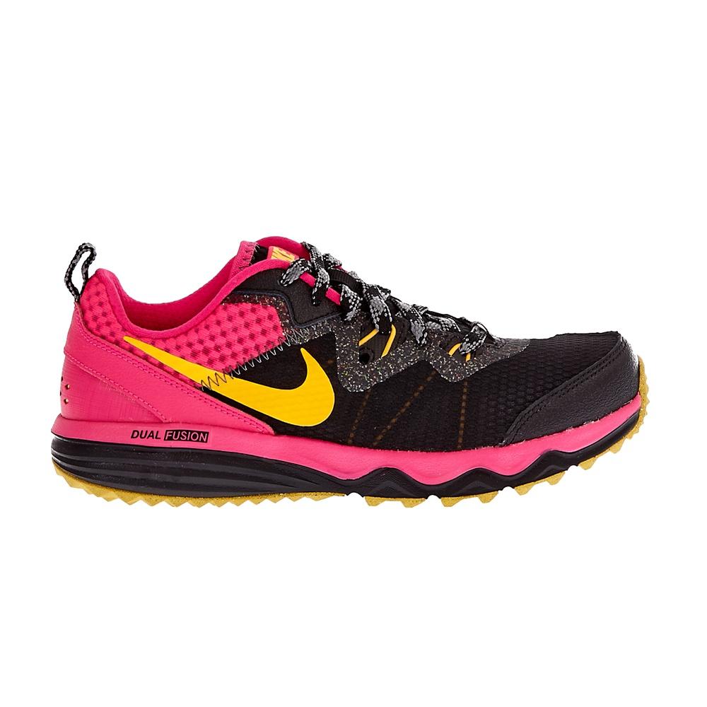 NIKE – Γυναικεία αθλητικά παπούτσια NIKE DUAL FUSION TRAIL μαύρα-φούξια