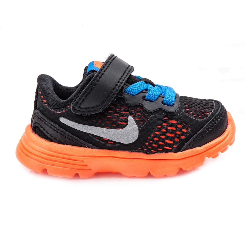 NIKE - Βρεφικά παπούτσια NIKE FUSION RUN 3 μαύρα