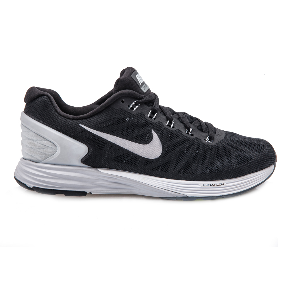 NIKE – Ανδρικά παπούτσια NIKE LUNARGLIDE 6 μαύρα