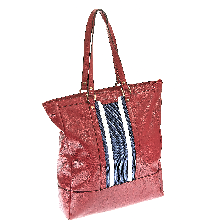 TRITON – Γυναικεία τσάντα Triton κόκκινη 1325293.0-0000