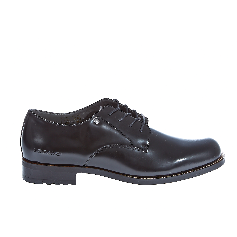 "G-STAR RAW – Γυναικεία παπούτσια ""Manor Derby Shine"" μαύρα"