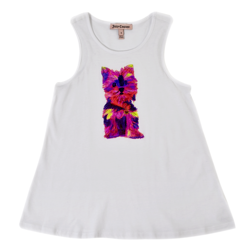 JUICY COUTURE KIDS - Παιδική μπλούζα JUICY COUTURE λευκή