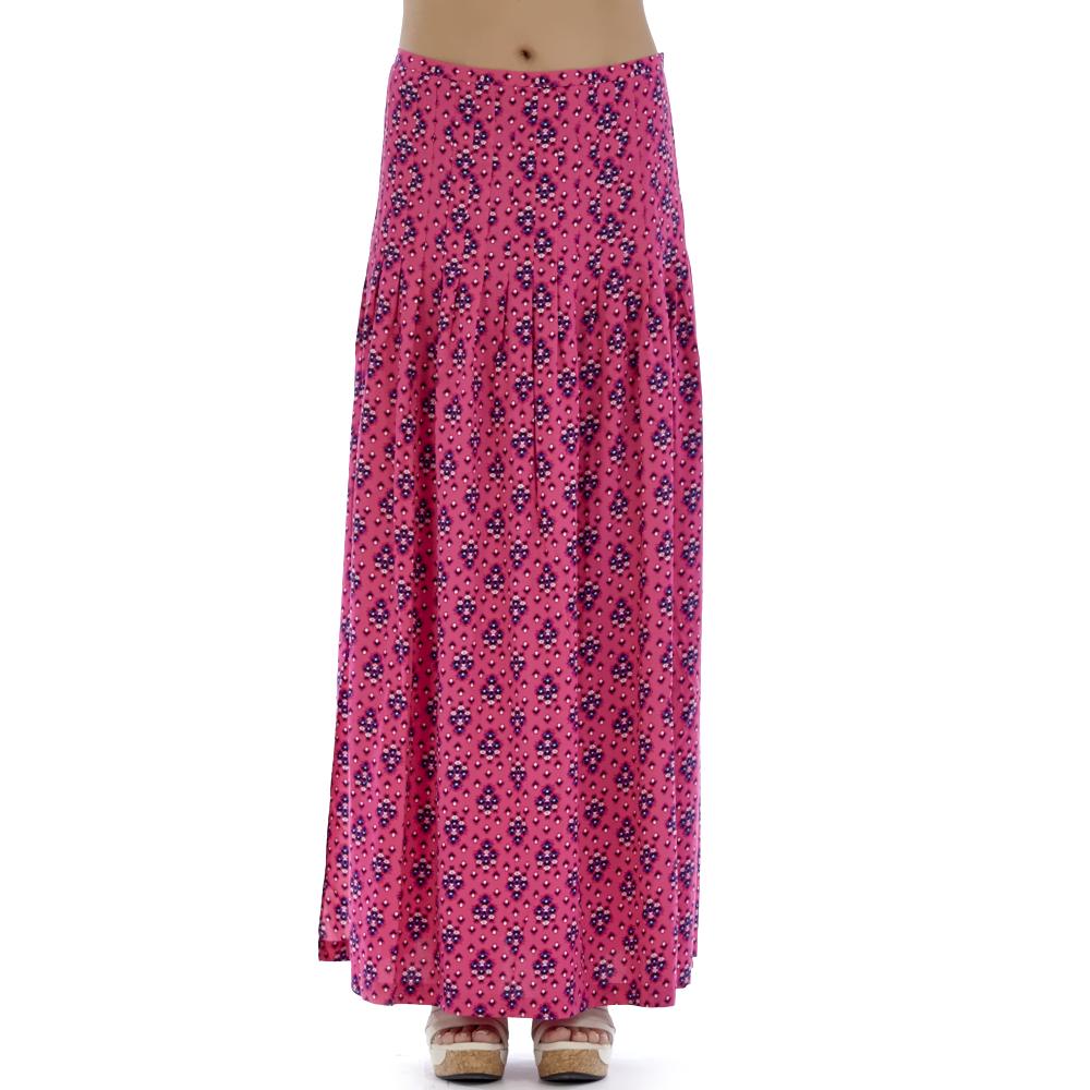 JUICY COUTURE - Γυναικεία φούστα Juicy Couture φούξια γυναικεία ρούχα φούστες μάξι