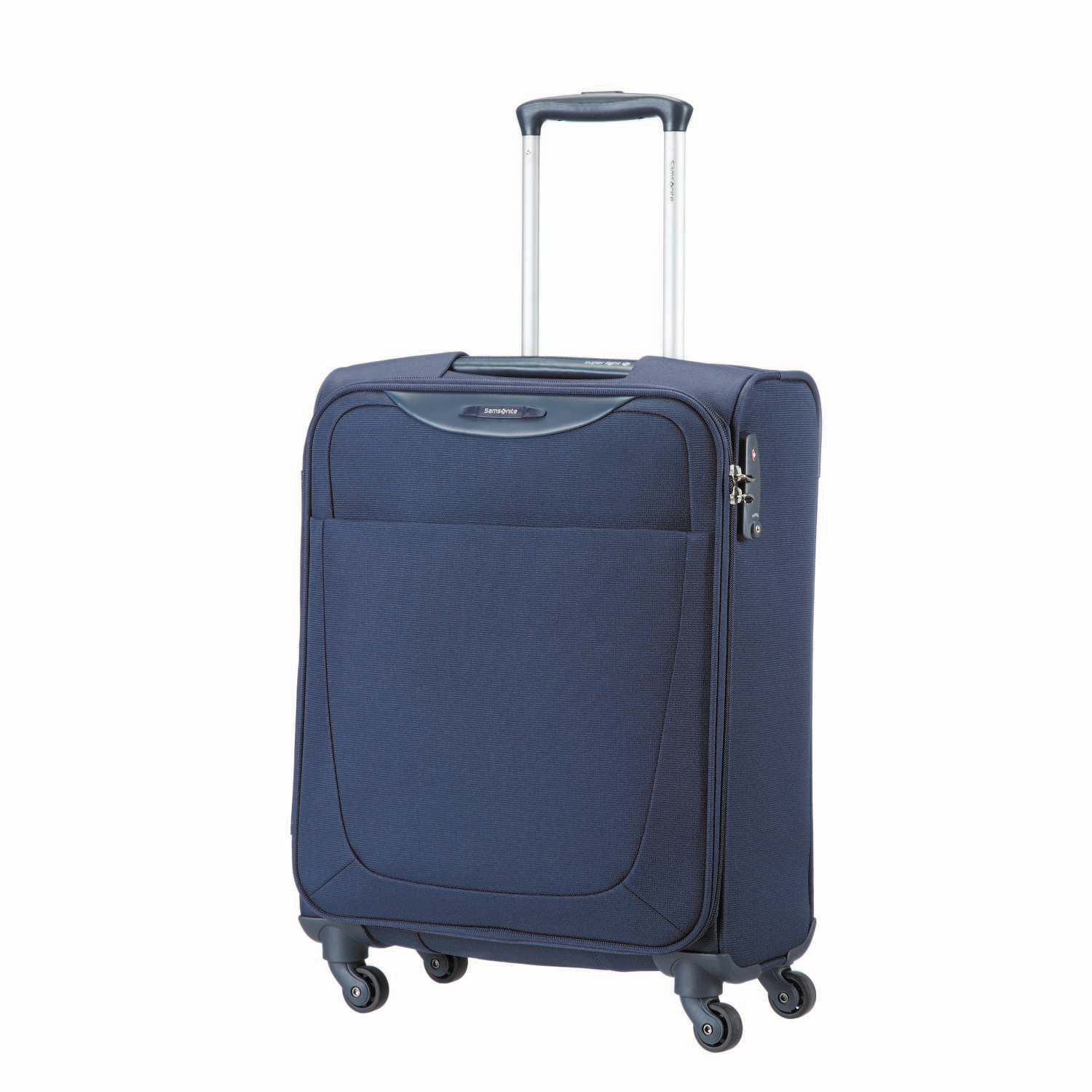 SAMSONITE (TRAVEL) - Βαλίτσα BASEHITS SPINNER 55/20 Samsonite μπλε