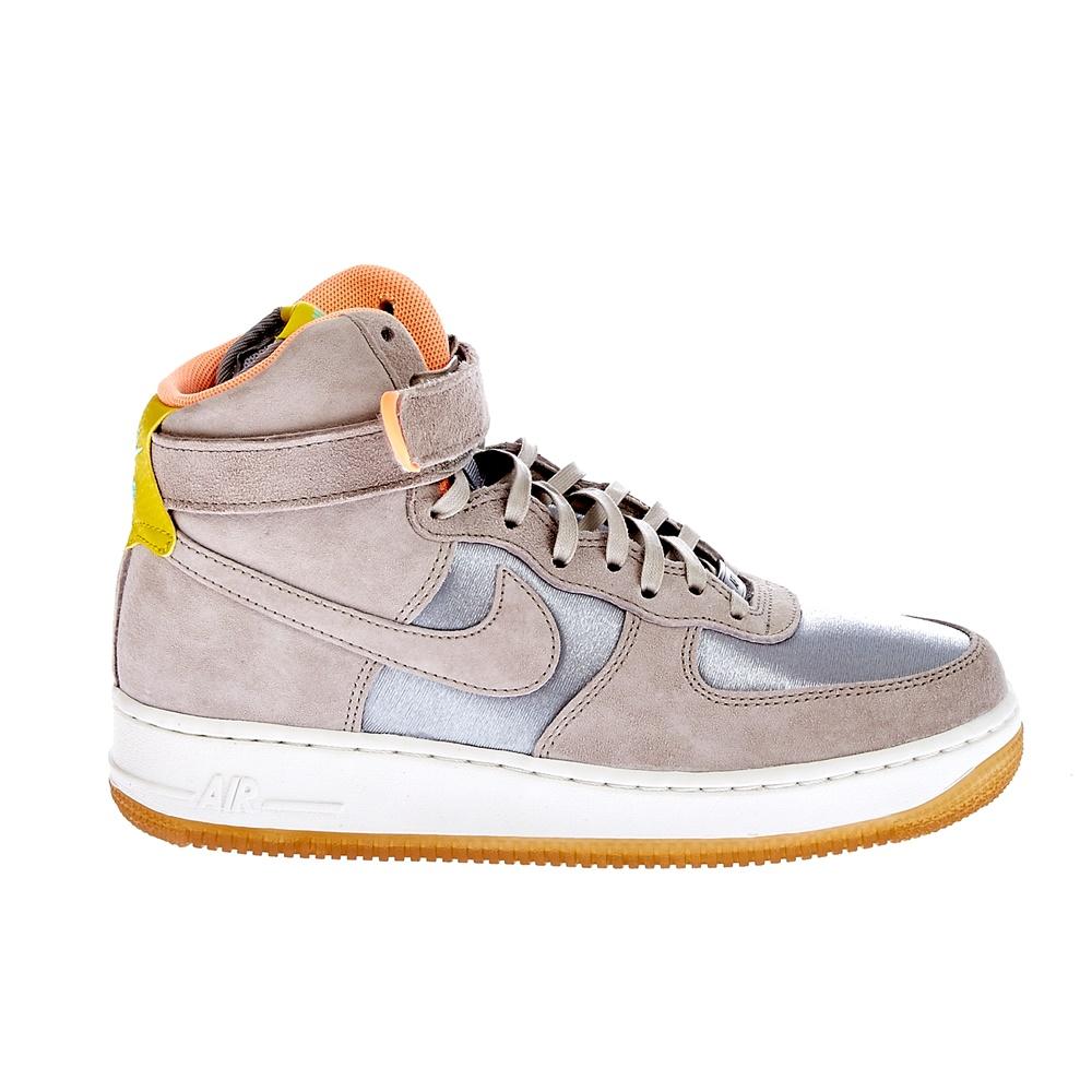 NIKE – Γυναικεία παπούτσια Nike AIR FORCE 1 HI PRM μπεζ