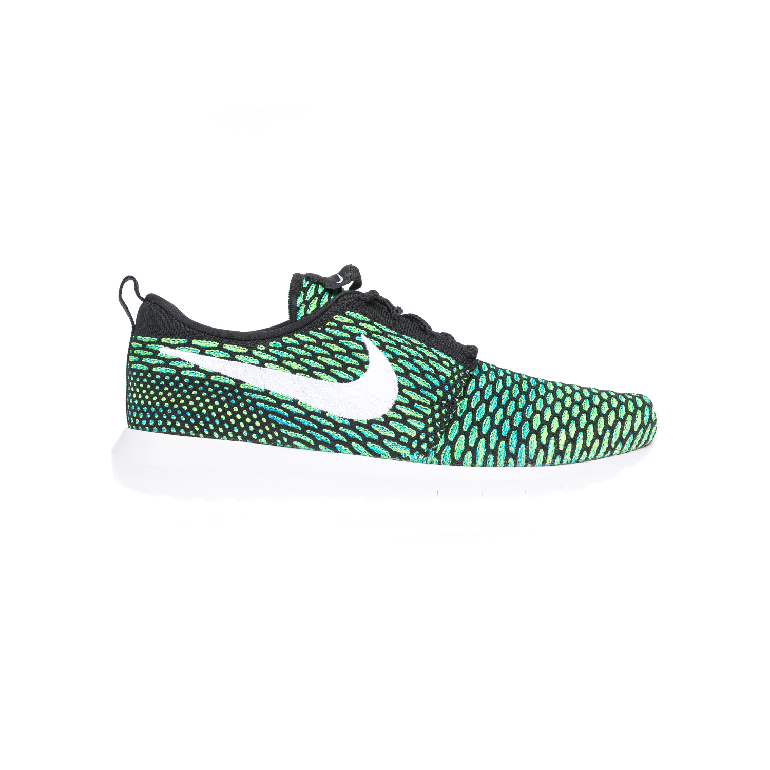 NIKE – Αντρικά παπούτσια NIKE ROSHE NM FLYKNIT πράσινα-μαύρα