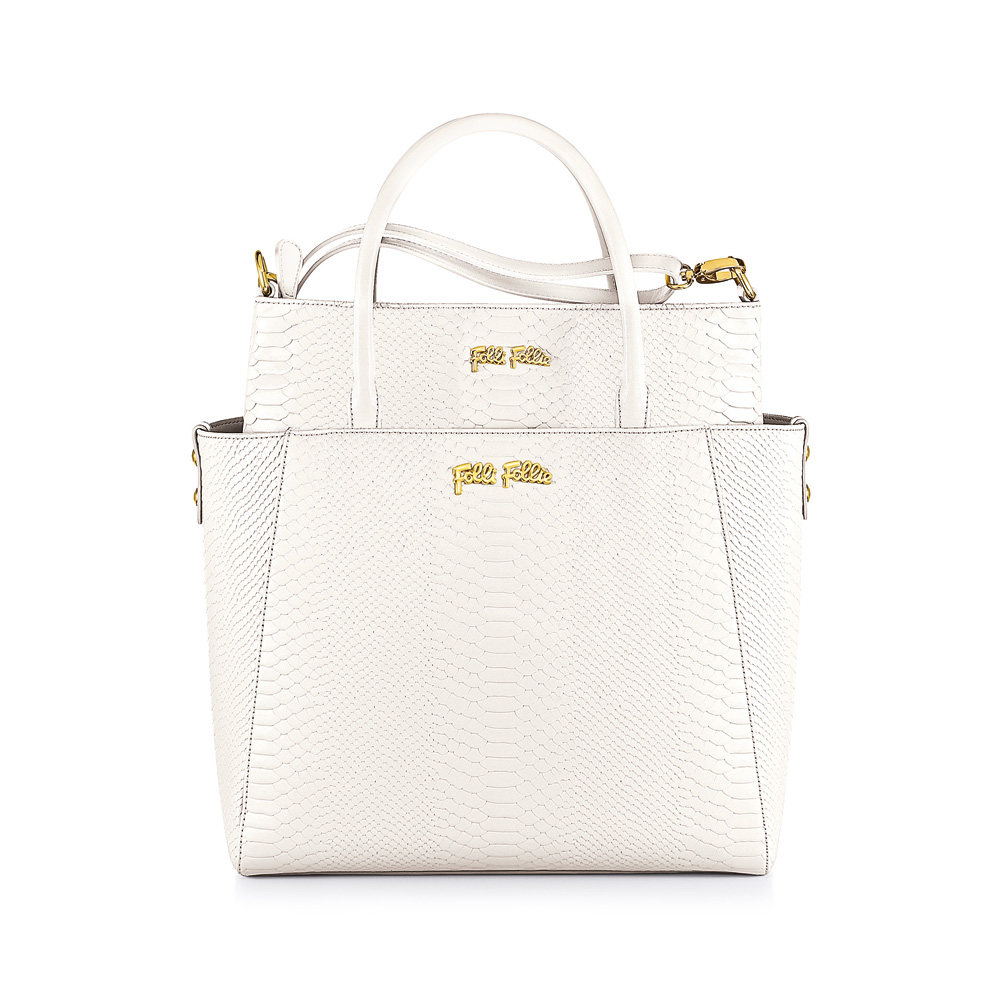 FOLLI FOLLIE – Γυναικεία τσάντα FOLLI FOLLIE άσπρη 1342474.0-0000