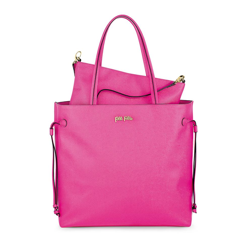 FOLLI FOLLIE – Γυναικεία τσάντα FOLLI FOLLIE ροζ 1342475.0-0000
