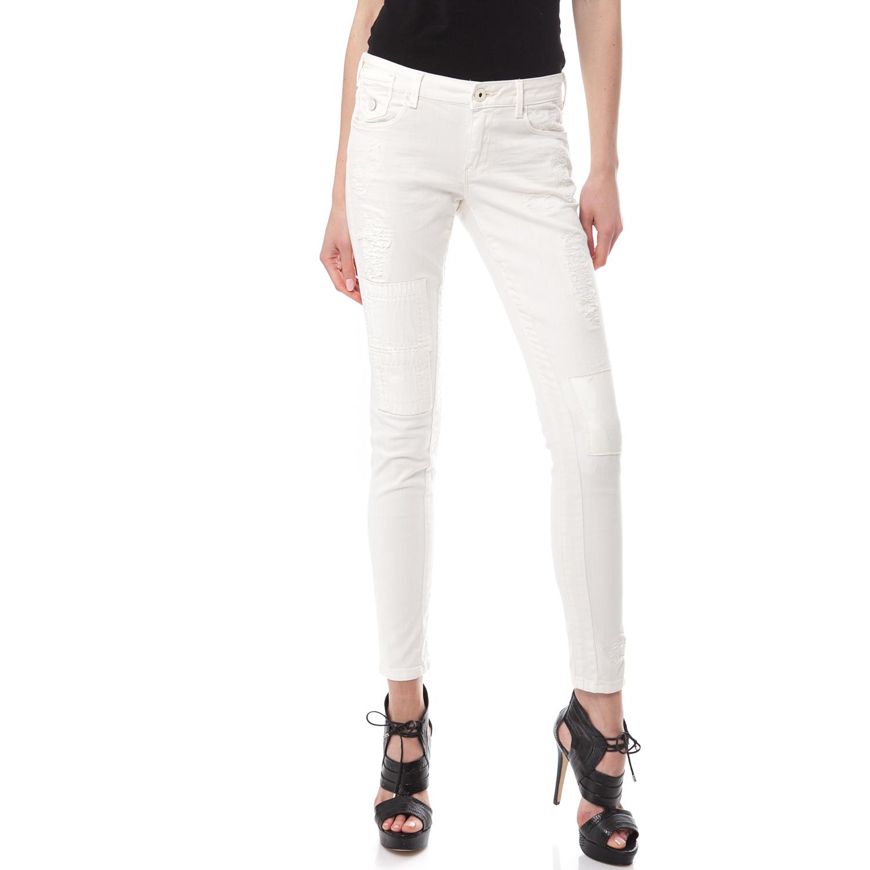 MAISON SCOTCH - Γυναικείο τζιν παντελόνι Maison Scotch ημίλευκο